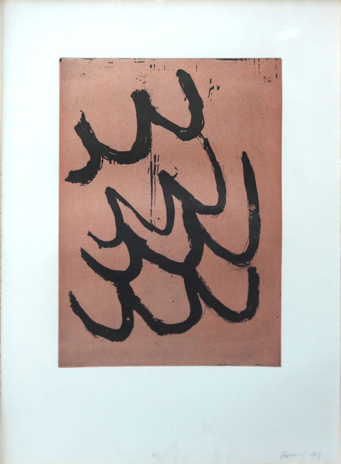 Günther Förg contemporary art buy print Griffelkunst