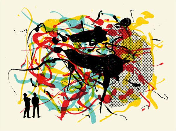 Aesthetic Apparatus  Michael Byzewski FORMATION 001 musik art musik posters art of rock musikposter music designe