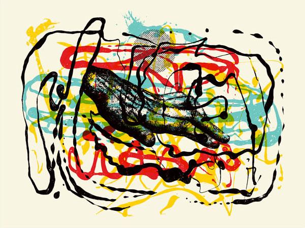 Aesthetic Apparatus  Michael Byzewski FORMATION 002 musik art musik posters art of rock musikposter music designe.