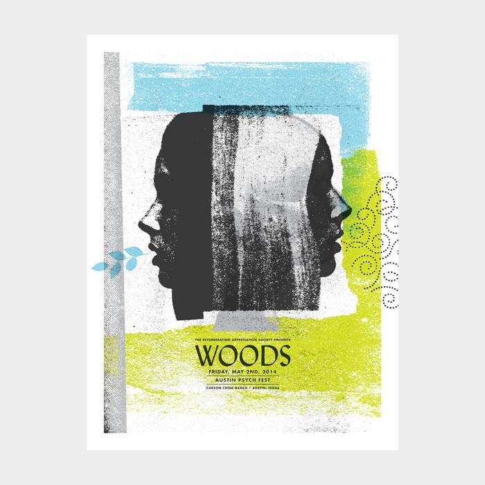 Aesthetic Apparatus  Michael Byzewski WOODS musik art musik posters art of rock musikposter music designe
