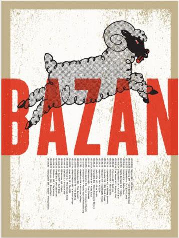 Aesthetic Apparatus 1 Michael Byzewski BAZAN TOUR musik art musik posters art of rock musikposter music designe