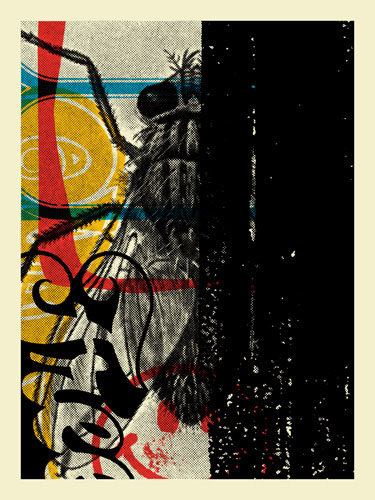 Aesthetic Apparatus  Michael Byzewski musik art musik posters art of rock musikposter music designe DECAY 001