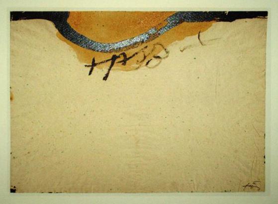 Antoni Tapies 1 Farboffsetlithografie Lithografie poster