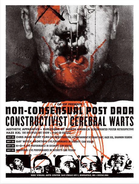 Aesthetic Apparatus Michael Byzewski Cerebral Warts musik art musik posters art of rock musikposter music designe