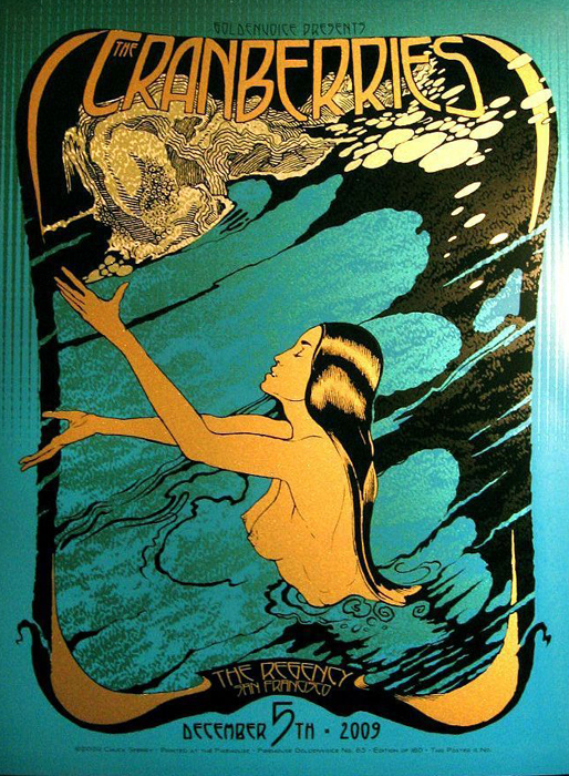 Chuck Sperry contemporary art buy print siebdruck art of rock screenprint poster art