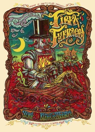 Michael Motorcycle poster art screenprint buy David O Daniel