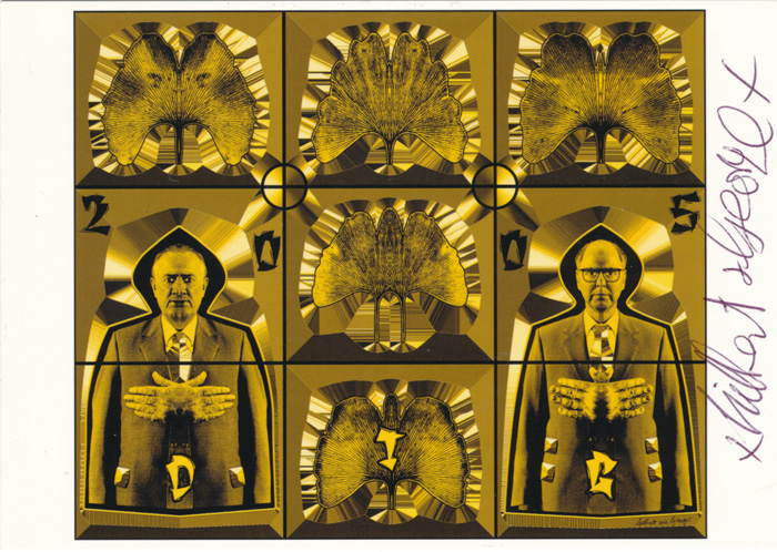 Gilbert & George contemporary art buy print siebdruck poster art Multiple Dig