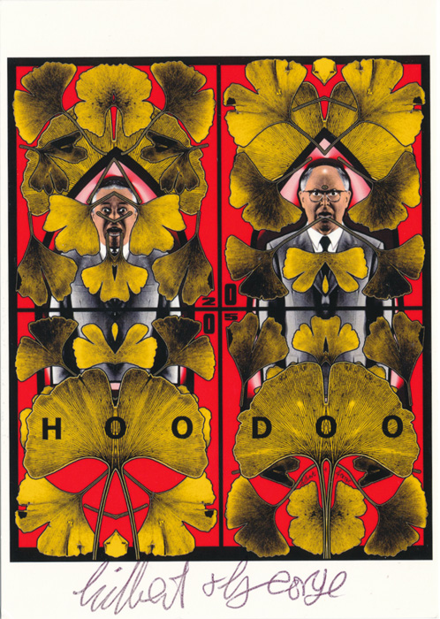 Gilbert & George contemporary art buy print siebdruck poster art Multiple Hoodoo