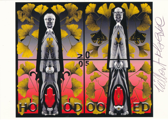 Gilbert & George contemporary art buy print siebdruck poster art Multiple Hoodooed