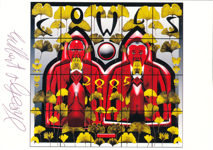 Gilbert & George contemporary art buy print siebdruck poster art Multiple