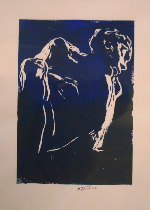 Ursula Henrich contemporary art buy original gemälde linolschnitt