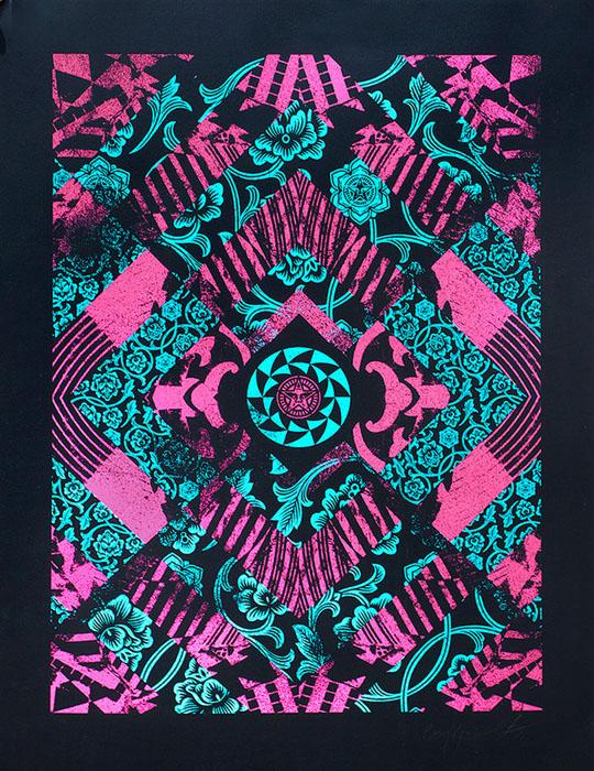 Casey Raider screenprint Siebdruck urban art poster silkscreen