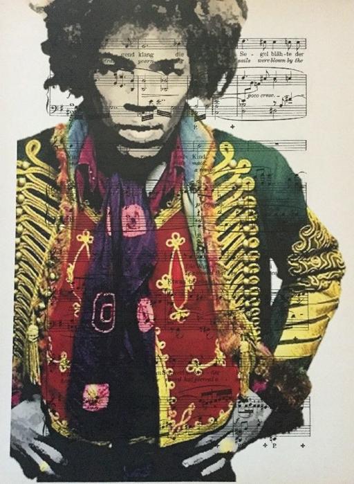 Jimmy Hendrix kunst
