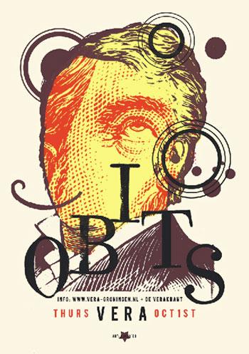 Kunny van der Ploeg siebdruck silkscreen conzert poster art of rock Obits