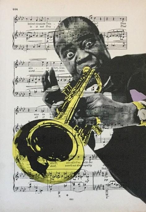 Luis Armstrong art
