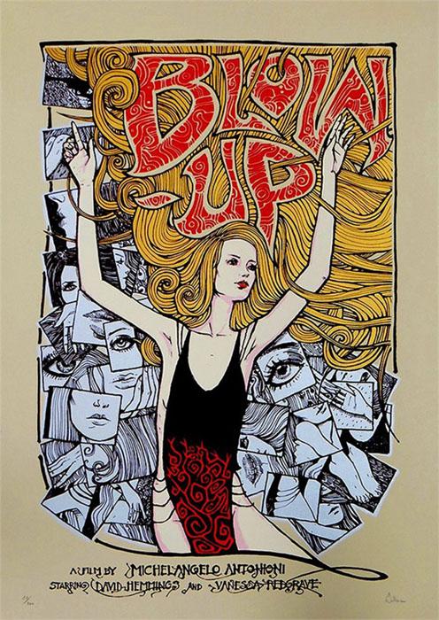 Malleus BLOW UP - Regular Edition silkscreen siebdruck concertposter poster prints art prints rock art dark nouvou