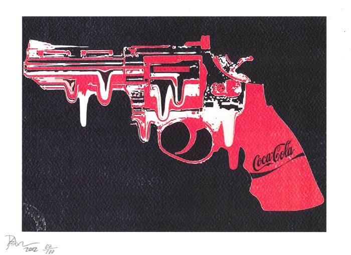 Death NYC, urban art gallery buy street art screenprint poster
