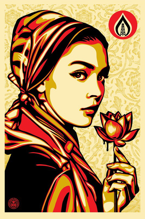 Shepard Fairey Obey offset lithograph 2016  natural springs