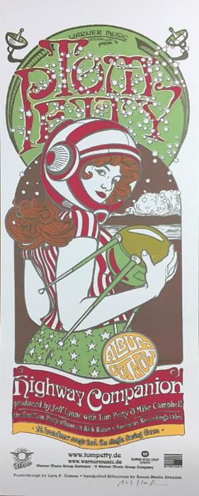 Douze Lars P. Krause art gallery buy street art screenprint poster art of rock