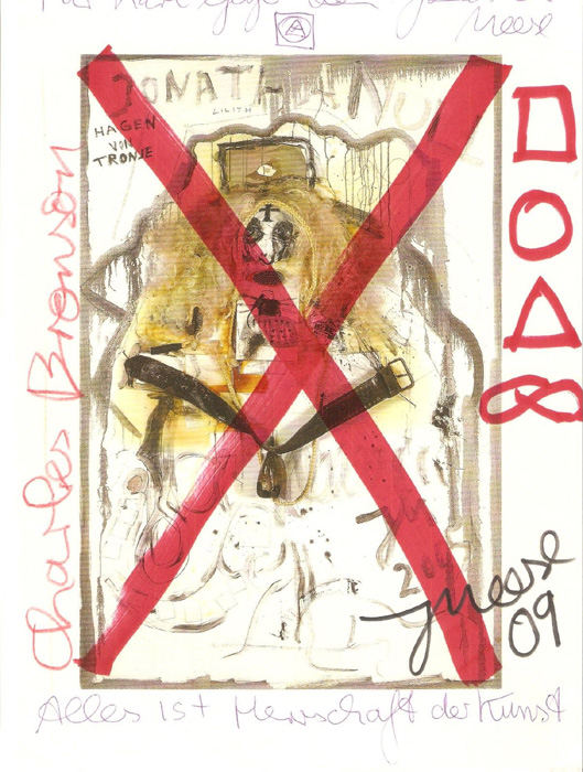 Jonathan Meese contemporary art buy art print Druckgrafik Grafik