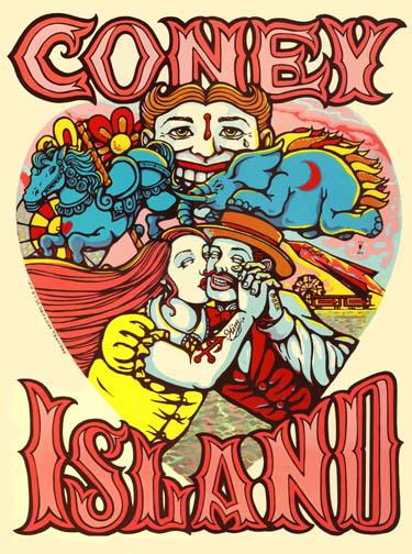 Michael Motorcycle poster art screenprint Siebdruck art of rock