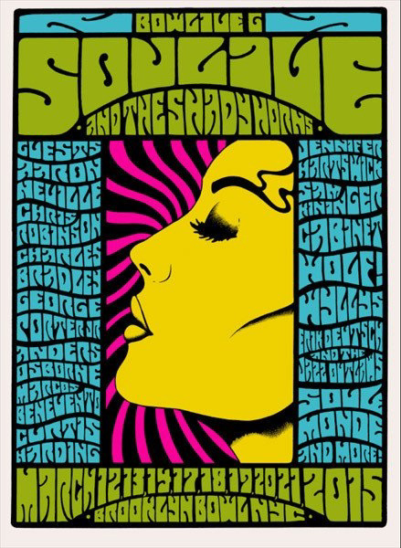 soulive Alan Forbes urban art gallery buy street art screenprint poster silkscr