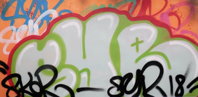 spray paint syr
