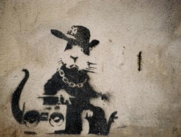 banksy urban art print buy