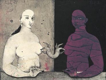 Paul Wunderlich Lithographie