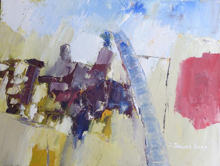 Isolde Bauer contemporary art abstrakte Malerei