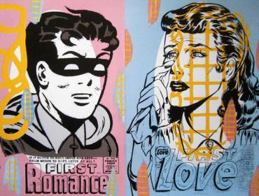 Jack Risto, urban art gallery buy street art screenprint poster