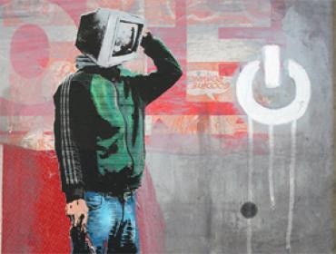 Leo Boyd screenprint unique urban art Siebdruck